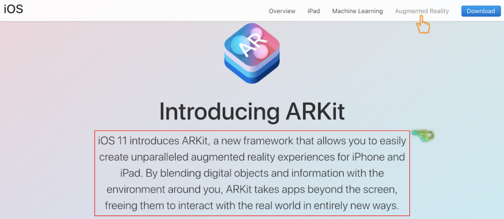 Apple ARkit Official